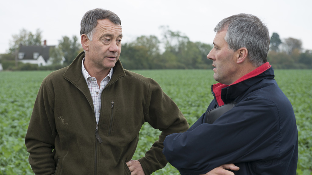 iOSR growers James Chamberlain and Andrew Ward