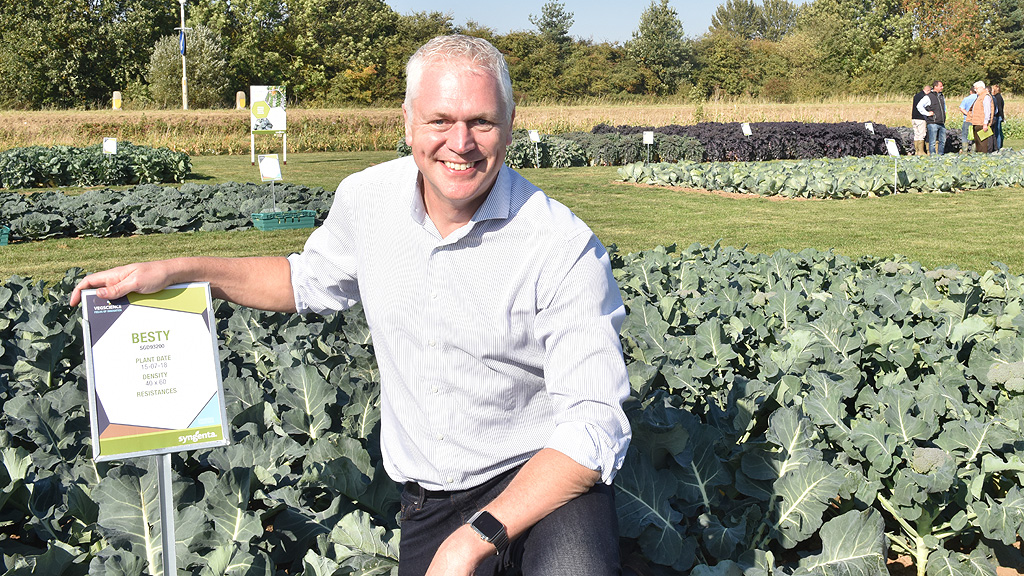 Arend Schot at Syngenta Fields of Innovation Open Day 2018
