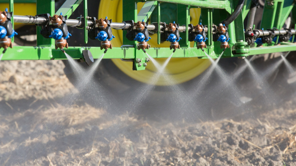Defy 3D Nozzle for pre-emergence application