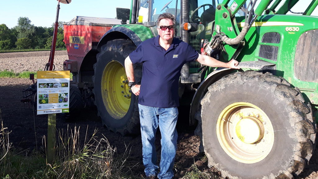 JSR Farms' Environment Specialist Mark Richardson