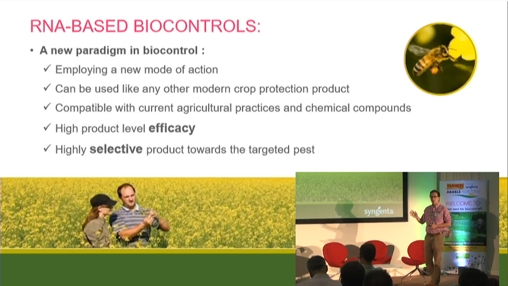 Biocontrol featrures