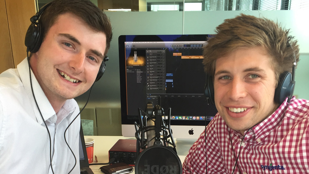 Sam Stephenson and Tom Brown InContact podcasts