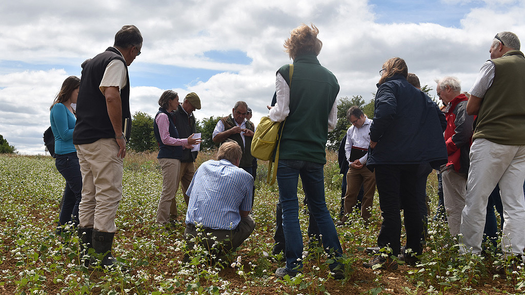 CFE training for farmers, agronomists and ecologists