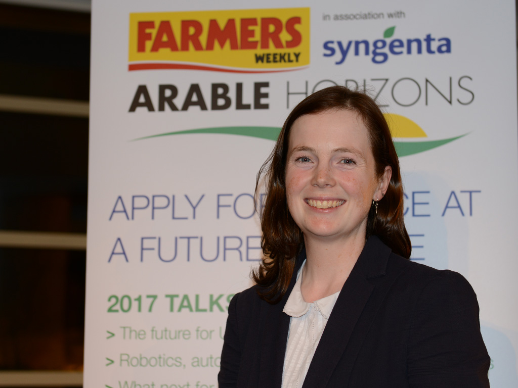 Dr Alison Bentley at Arable Horizons event
