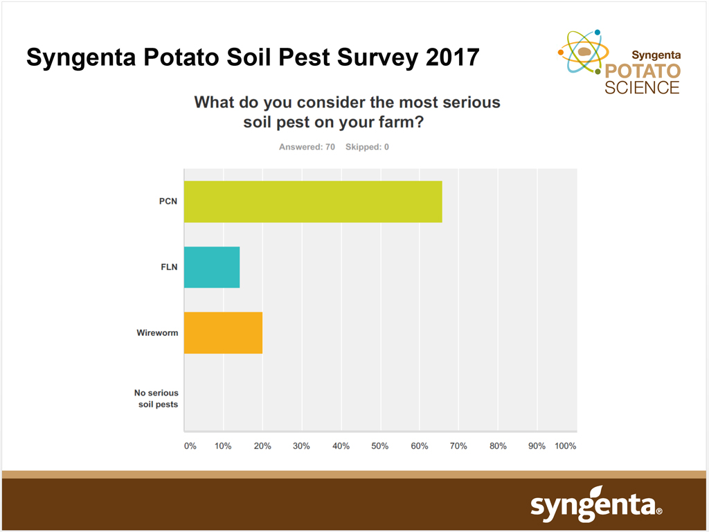 Syngenta Soil Pest Survey - pest importance