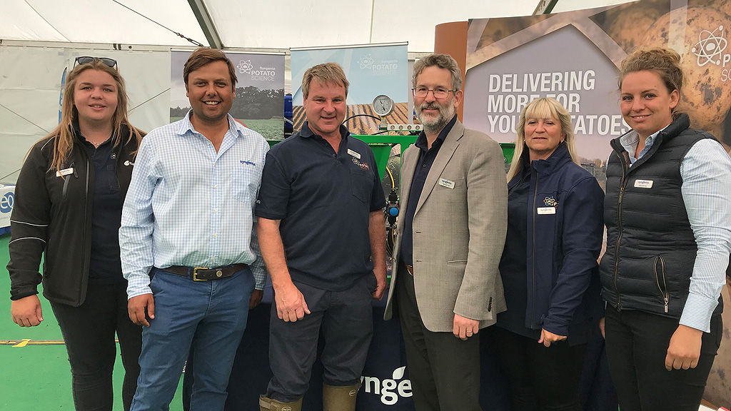 Syngenta team at Potatoes in Practice 2019