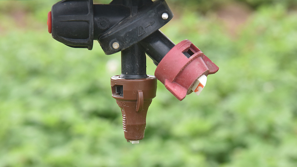 Nozzles in Eurofins application trial