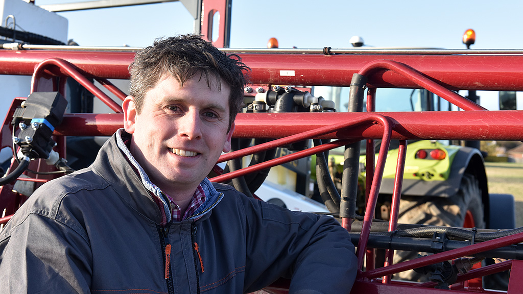 Harry Fordham Syngenta application specialist