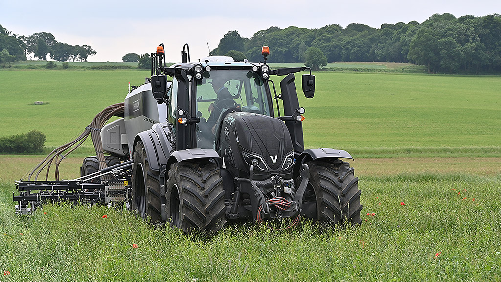 Direct drilling into cover crops
