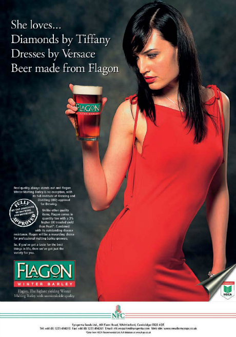 Flagon winter barley