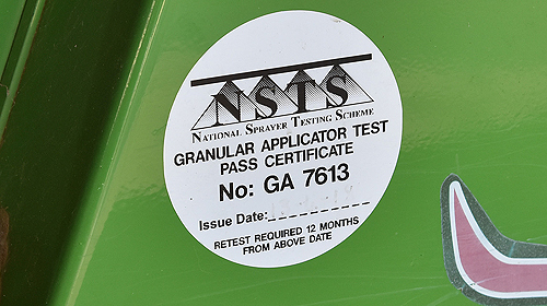 NSTS certification