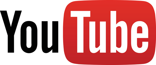 YouTube logo half size