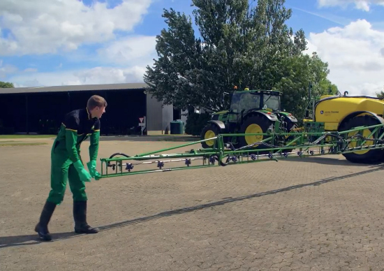 Setting up your sprayer