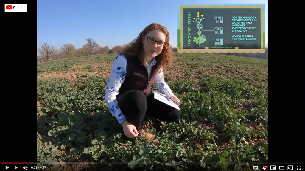 Georgina Wood in iOSR Focus site video