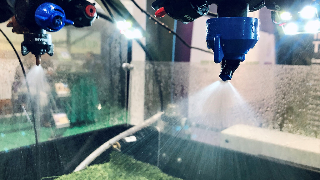 3D Nozzle working demonstration at LAMMA