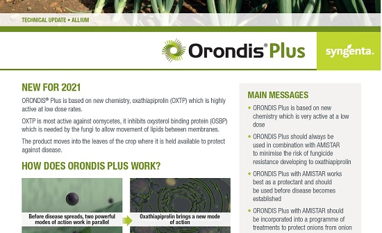 New_Syngenta_Fungicide_Orondis Plus Allium TU 2021