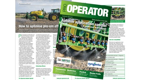 Pro-Operator Autumn Application Special