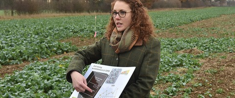 iOSR Focus Site Technical Manager Georgina Wood
