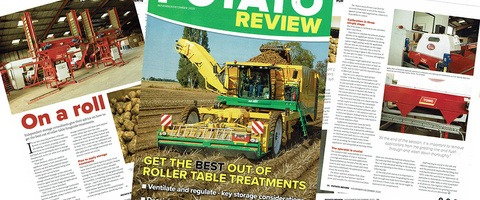 Potato Review seed treatment application feature image