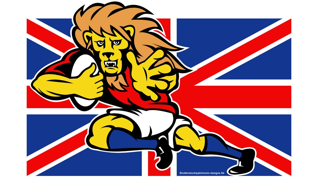 British Lions graphic