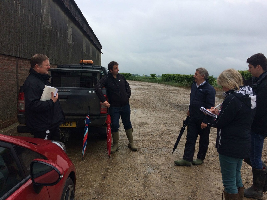 The Disease Force visited the Essex case study for the third and final time