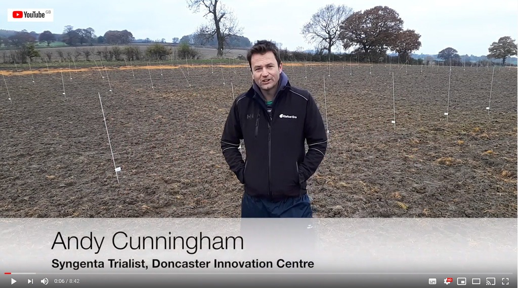 Andy Cunningham at Syngenta Ryegrass Focus Site 2019