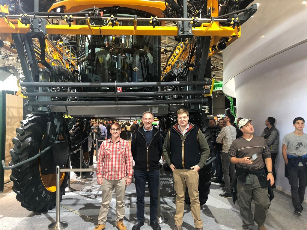 FSOOTY winners at Agritechnica